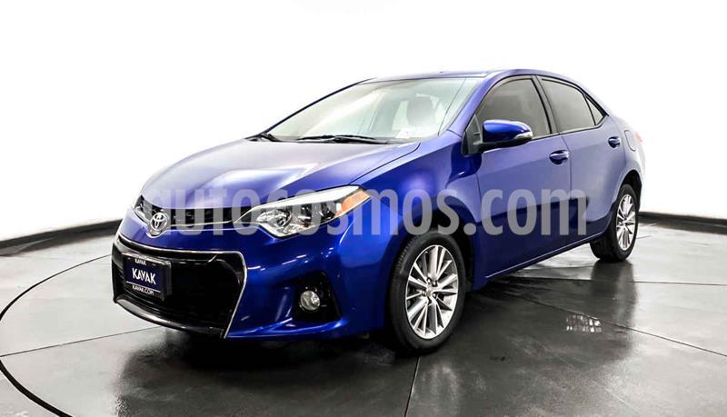 Toyota Corolla S Aut usado (2015) color Azul precio $212,999