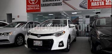 Foto venta Auto Seminuevo Toyota Corolla S Aut (2015) color Blanco precio $215,000