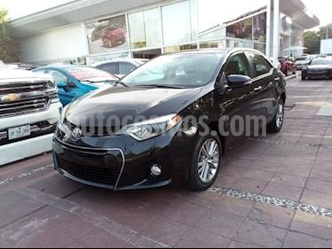 Toyota Corolla S Aut usado (2014) color Negro precio $219,000