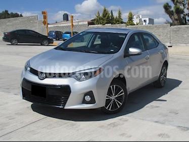 Foto venta Auto usado Toyota Corolla S (2016) color Plata Metalico precio $232,000