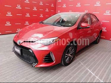 Toyota Corolla SE Plus Aut usado (2017) color Rojo precio $279,000