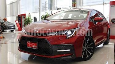 Toyota Corolla SE usado (2020) color Rojo precio $395,000