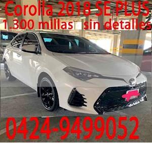 Foto Toyota Corolla Seg 1.8 usado (2018) color Blanco precio u$s30.000