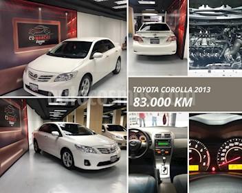 Toyota Corolla GLi  usado (2013) color Blanco Nieve precio u$s14.000