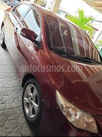 Toyota Corolla GLi  usado (2012) color Rojo precio u$s12.000