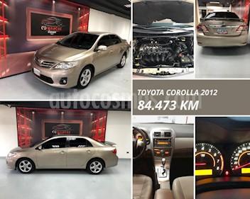 Toyota Corolla GLi  usado (2012) color Bronce precio u$s13.500