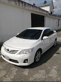 Toyota Corolla GLi 1.8L Aut usado (2013) color Blanco precio u$s13.300