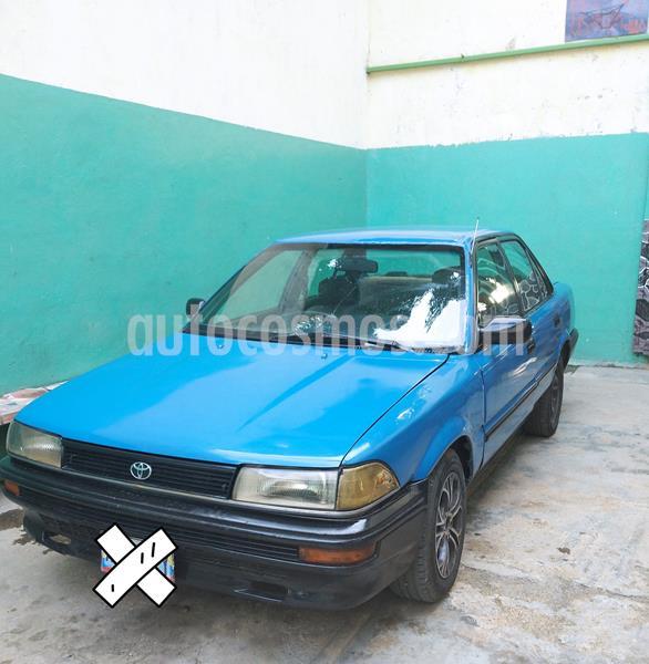 Toyota Corolla araya usado (1990) color Azul precio u$s1.350