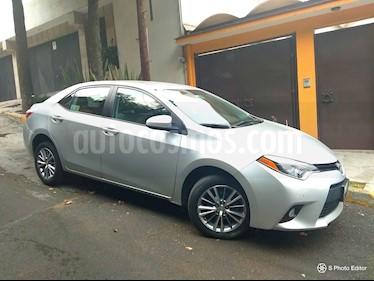 Toyota Corolla XLE 1.8L Aut QE usado (2014) color Gris Metalico precio $185,000