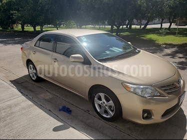 Toyota Corolla XLE 1.8L Aut usado (2013) color Beige Metalico precio $148,000