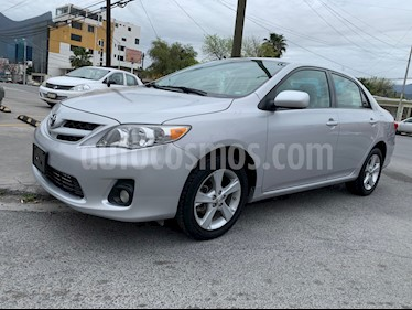Foto venta Auto usado Toyota Corolla XLE 1.8L Aut (2011) color Gris precio $134,000