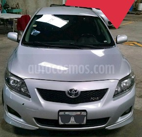 Foto venta Auto usado Toyota Corolla XRS 2.4L (2010) color Plata precio $94,500