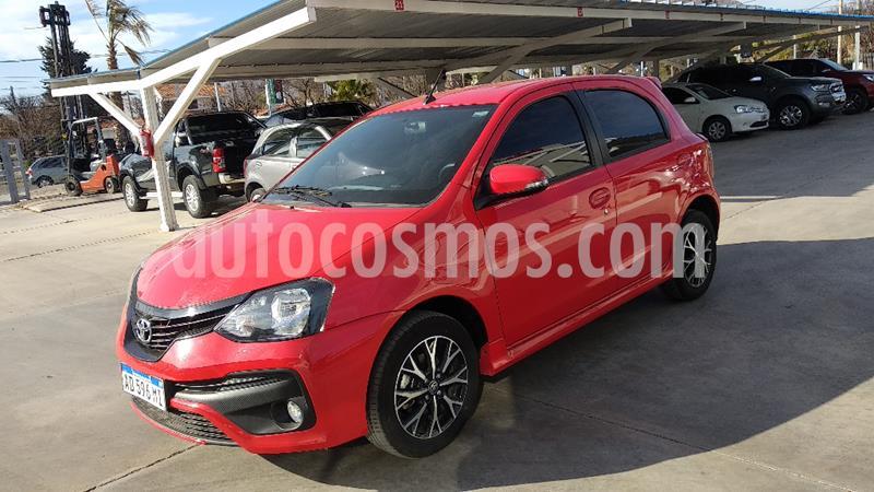 Toyota Etios Hatchback XLS usado (2019) color Rojo precio $1.010.000
