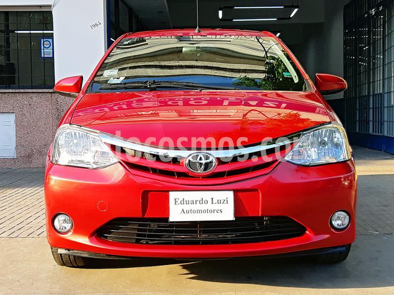 Toyota Etios Hatchback XLS usado (2014) color Rojo precio $849.000