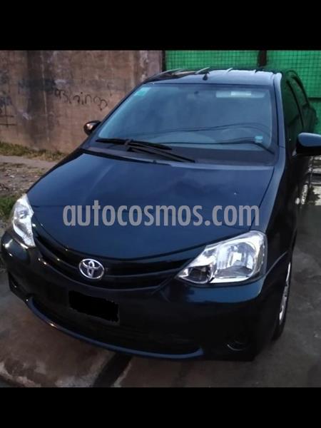 Toyota Etios Hatchback XS usado (2016) color Azul precio $640.000
