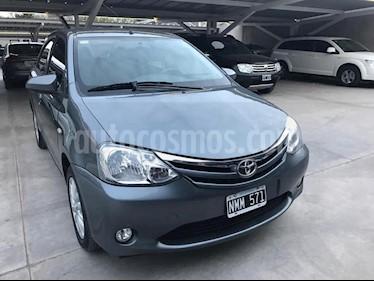 Foto venta Auto usado Toyota Etios Hatchback XLS (2014) color Gris Oscuro precio $455.000