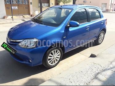Foto venta Auto Usado Toyota Etios Hatchback XLS (2014) color Azul precio $299.000