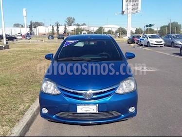 Foto venta Auto usado Toyota Etios Hatchback XLS (2013) color Azul precio $190.000