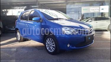 Foto venta Auto usado Toyota Etios Hatchback XLS (2014) color Azul precio $360.000