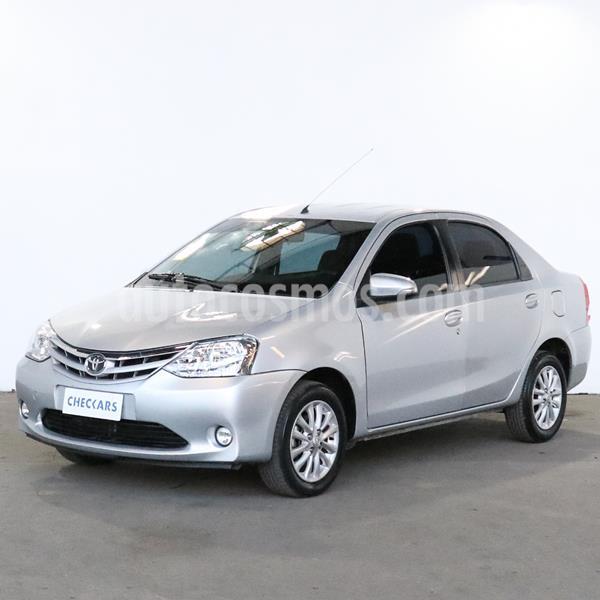 Toyota Etios Sedan XLS usado (2015) color Gris Plata  precio $764.000