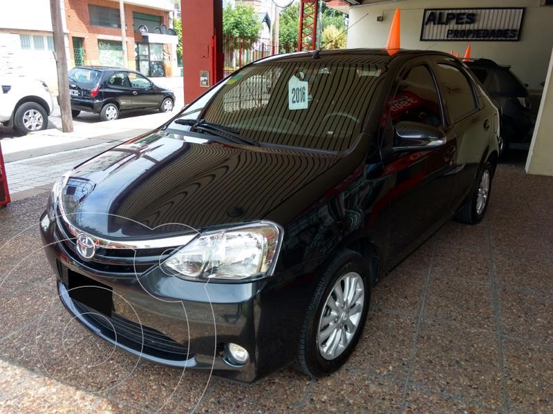 Toyota Etios Sedan XLS usado (2016) color Negro precio $1.080.000