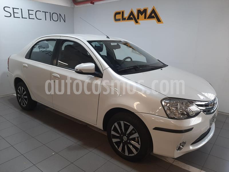 Toyota Etios Sedan Platinum usado (2016) color Blanco Perla precio $850.000
