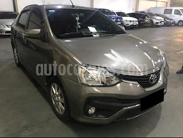 Toyota Etios Sedan XLS usado (2017) color Gris Oscuro precio $640.000