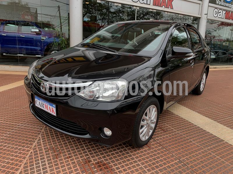 Toyota Etios Sedan XLS 2015/2016 usado (2015) color Negro precio $795.000