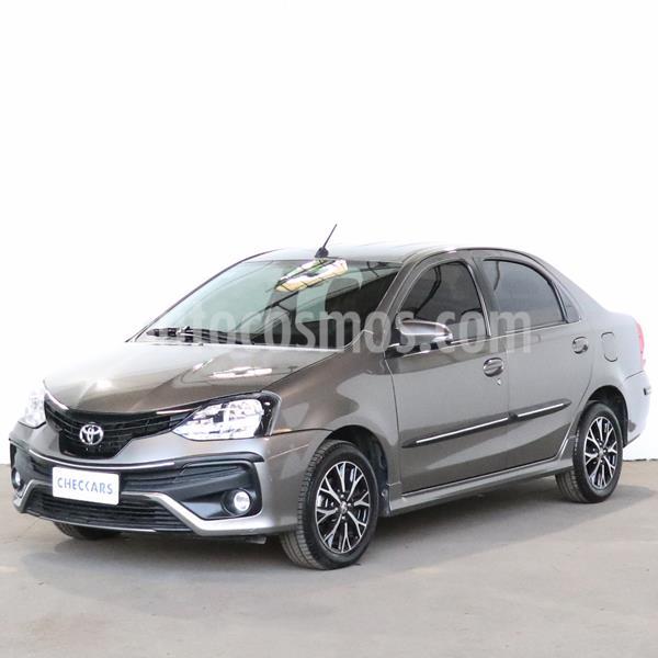 Toyota Etios Sedan XLS Aut usado (2019) color Gris Oscuro precio $1.173.000
