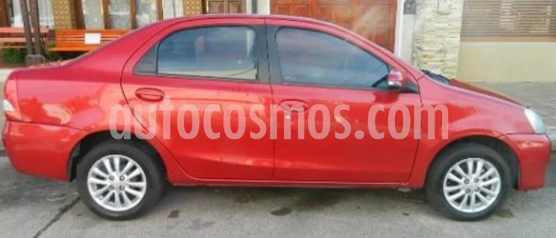 Toyota Etios Sedan XLS 2015/2016 usado (2015) color Rojo precio $635.000