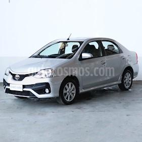 Toyota Etios Sedan XLS Aut usado (2018) color Gris precio $788.000