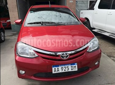Foto venta Auto usado Toyota Etios Sedan XLS 2016/17 (2017) color Rojo precio $425.000