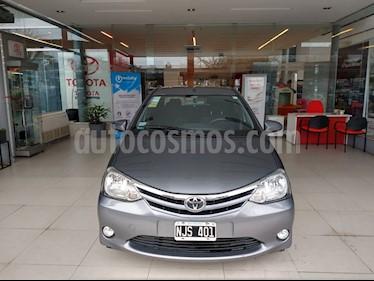 Foto venta Auto usado Toyota Etios Sedan XLS (2013) color Gris Oscuro precio $407.000