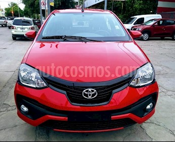 Toyota Etios Sedan XLS usado (2019) color Rojo precio $598.000