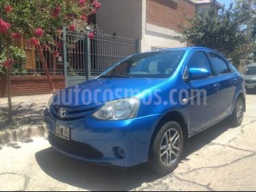Foto venta Auto usado Toyota Etios Sedan XS (2014) color Azul Catalina precio $310.000