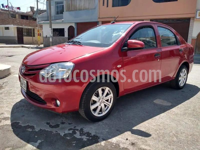 Toyota Etios 1.5L  usado (2017) color Rojo precio u$s4,320