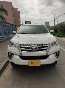 Toyota Fortuner Urbana 2.7L 4x2 Aut usado (2018) color Blanco Perla precio $90.000.000