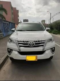 Toyota Fortuner Urbana 2.7L 4x2 Aut usado (2018) color Blanco precio $85.000.000