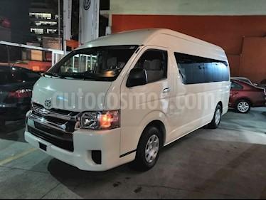 Foto venta Auto Seminuevo Toyota Hiace 2.7L Bus 15 Pas (2017) color Blanco precio $420,000
