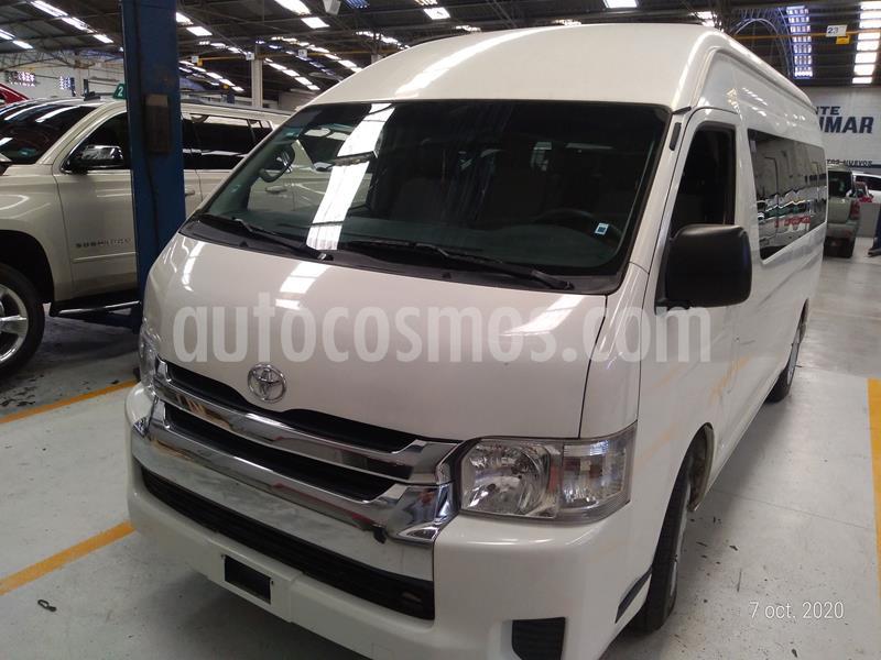 Toyota Hiace 2.7L Bus 15 Pas usado (2014) color Blanco precio $284,000