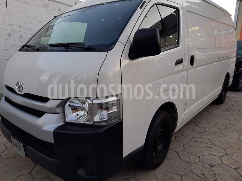 Toyota Hiace 2.7L Panel Super Larga usado (2018) color Blanco precio $298,000
