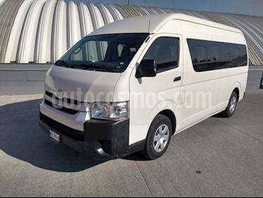 Toyota Hiace 2.7L Ventanas Superlarga usado (2014) color Blanco Magnesio precio $269,000