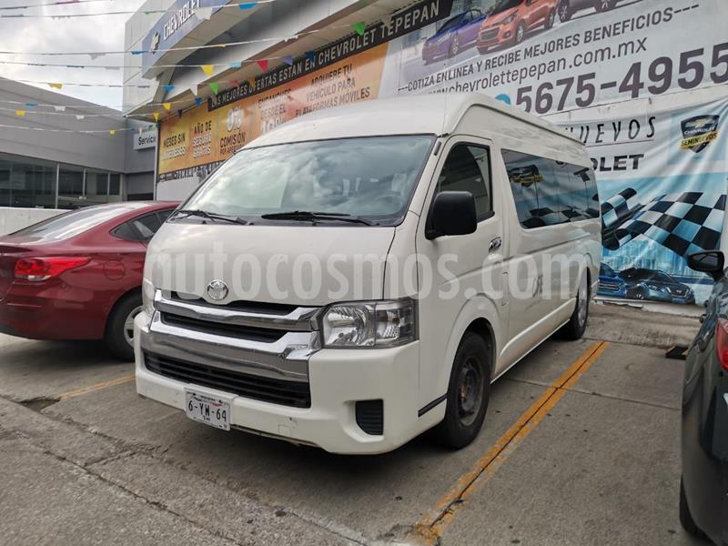 Toyota Hiace 2.7L Bus 15 Pas usado (2014) color Blanco precio $278,000