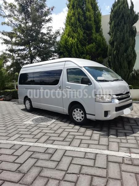 Toyota Hiace 2.7L Panel Super Larga usado (2014) color Plata precio $230,000
