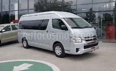 Toyota Hiace 5p L4/2.7 Man 15/Pas usado (2019) color Plata precio $458,000