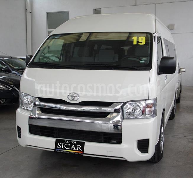 Toyota Hiace 2.7L Bus 15 Pas usado (2019) color Blanco precio $449,000