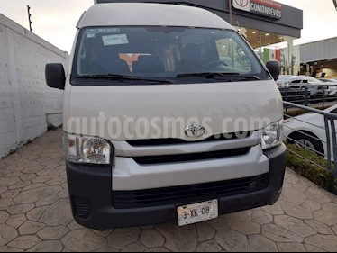 Toyota Hiace 5p Panel Superlarga L4/2.7 Man usado (2018) color Blanco precio $345,000