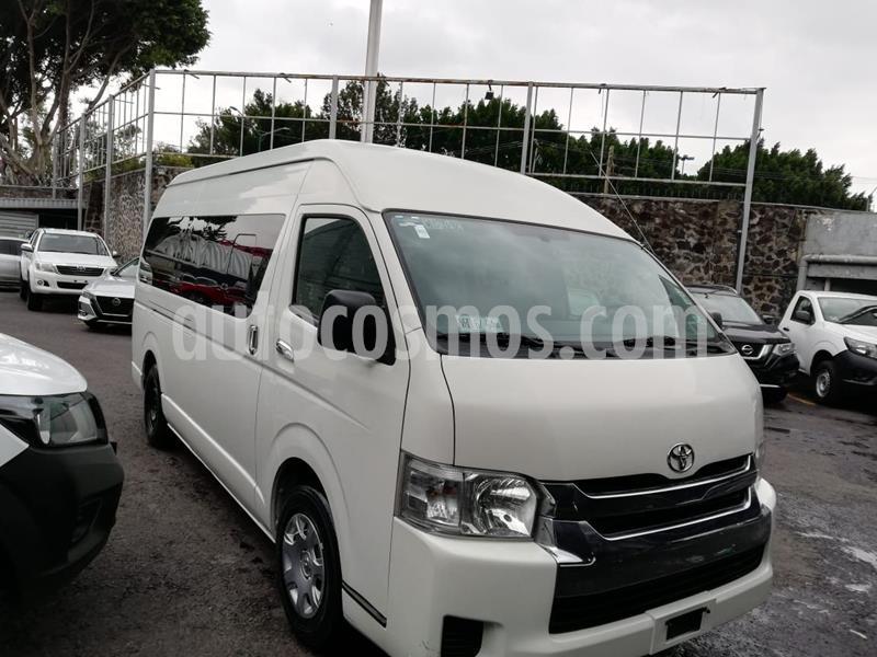 Toyota Hiace 2.7L Van Super Larga usado (2014) color Blanco precio $279,000