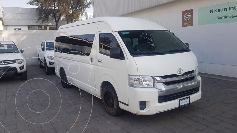 Foto Toyota Hiace 2.7L Bus 15 Pas usado (2014) color Blanco precio $253,000