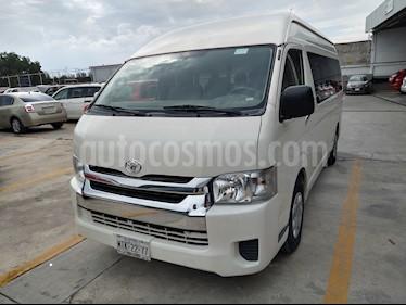 Toyota Hiace 2.7L Bus Commuter 15 Pas usado (2014) color Blanco precio $320,000